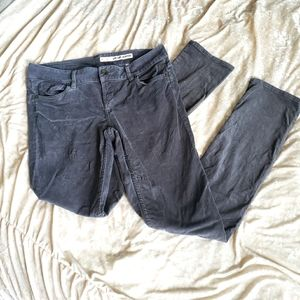 Dnky grey corduroy skinny pants
